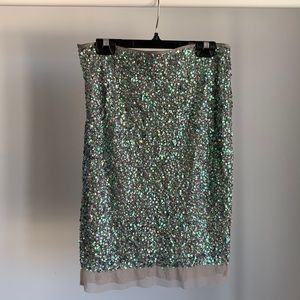 BODY by Victoria Sequin Skirt